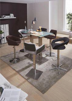 Barhocker grau, verschiedene Farben Modern, Dining Table, Furniture, Home Decor, Dinning Table Set, Metal, Gray, Colors, Homemade Home Decor