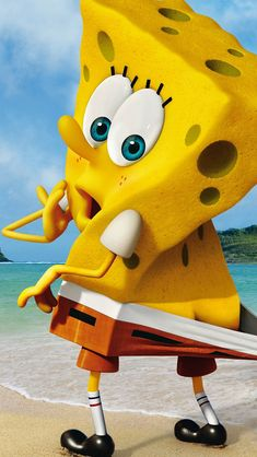Funny Spongebob Squarepants #iPhone #5s #Wallpaper