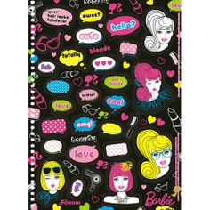 Caderno Univ. Barbie Especial Corações - 10 Matérias