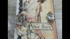 A Ladies Diary ( Graphic 45 ) Mini Album