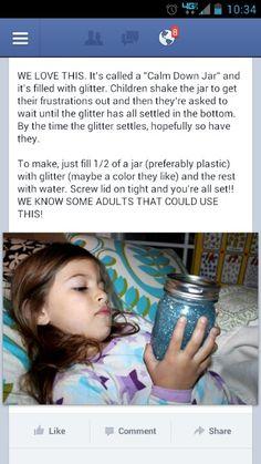 Calm Down Jar