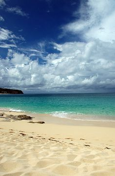 Storms Approaching - Caribbean Beach