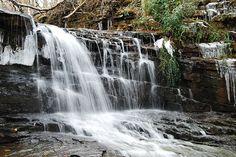 Dub Creek Falls in Alabama