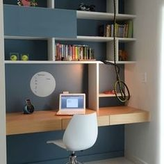 Contemporary Home Office Design Ideas, Pictures, Remodel and Decor #Contemporaryhomeoffices