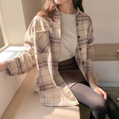 Korean Casual Outfits, Trendy Outfits, Cute Outfits, Looks Kawaii, Look Girl, Kpop Fashion Outfits, Mode Inspiration, Skirt Fashion, Aesthetic Clothes