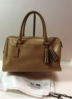 Love this beautiful leather Coach!