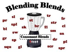 consonant blends with this fun interactive resource. This lesson can be used for a small group, literacy center, or write. Phonics Reading, Teaching Phonics, Kindergarten Literacy, Teaching Reading, Teaching Resources, Teaching Ideas, Jolly Phonics, Reading Games, Speech Activities