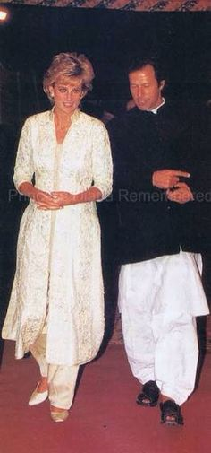 Lady diana with Imran Khan Imran,  Khan Niazi MP, (1952) is better known as Imran Khan, is a Pakistani politician, former cricketer, philanthropist, cricket commentator and the former chancellor of the University of Bradford.