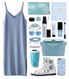 """""""Ciel"""" by by-jwp ❤ liked on Polyvore featuring Givenchy, JINsoon, shu uemura, Laura Mercier, Martick, Bling Jewelry, BERRICLE, Sheinside and shein"""