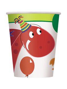 Dinosaur Birthday Cups