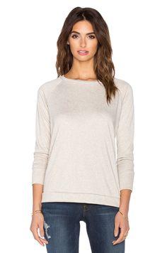 LNA swing knit top(charcoal gray )