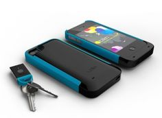 I NEED THIS! Just slip on the BiKN iPhone case, download the app, and clip the tags onto the things you lose most!