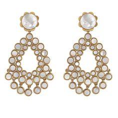 See the Women's Asha Flower Chandelier Earrings. Red Jewelry, Amber Jewelry, Cute Jewelry, Fashion Jewelry, Women Jewelry, Jewellery, Red Earrings, Pendant Earrings, Chandelier Earrings