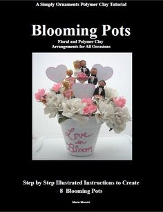 Floral and Polymer Clay Arrangements for all by Simplyornaments