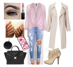"""""""Untitled #78"""" by ribeeirotelminha on Polyvore featuring Barbara Bui, Manon Baptiste, Forever 21, MAC Cosmetics, women's clothing, women, female, woman, misses and juniors"""