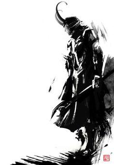 Illustrations by Jungshan | Cuded Loki