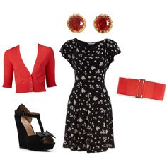 """outfit inspired by """"movie date/street scene"""" of Noah & Allie on the Notebook"""