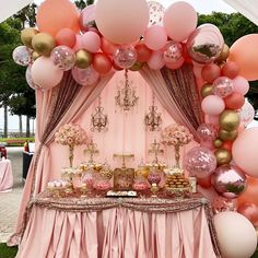 Major Details For Beautiful Quinceanera Party Decorations - An Analysis - Joy Elegant Birthday Party, Gold Birthday, 1st Birthday Girls, Princess Birthday, Birthday Parties, 1st Birthday Girl Decorations, Dessert Table Birthday, Girl Baby Shower Decorations, Decoration Evenementielle