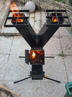 Rocket Heater, Rocket Stoves, Metal Projects, Welding Projects, Rocket Stove Design, Parrilla Exterior, Fire Pit Grill, Barbecue Pit, Grill Oven