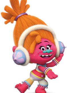 DJ Звуки - персонаж мультфильма «Тролли» (Trolls)