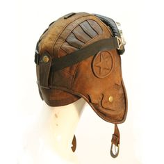 Wild Card Flight Helmet - Leather :: Hats :: Accessories :: Five & Diamond