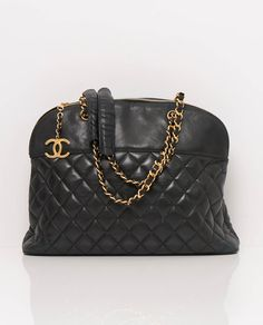 This Exemplifies Why We Love Vintage Chanel Bags Large Shoulder Tote