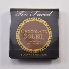 Too faced chocolate soleil matte bronzer in med/deep BNWS - $4.50 (Stephanie E)