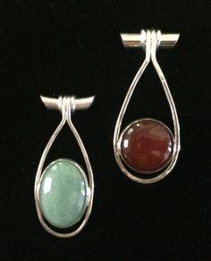 Sterling Silver Pendants by GingerLindenCrossArt
