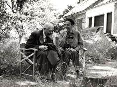 Victor Sjöström et Ingmar Bergman