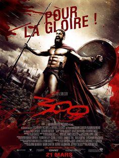 AFFICHE CINEMA du film 300