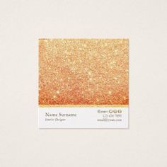 Shop Minimalist Glitter Designer Square Business Card created by AffordPrint. Personalize it with photos & text or purchase as is! Minimalist Business Cards, Glitter Gifts, Find Picture, Simple, Personalized Gifts, Unique Gifts, Diy, Design, Gift Ideas