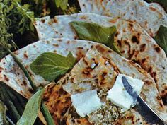 News.Az - Kutabs with green and cottage cheese