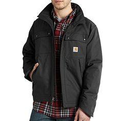 Carhartt Men's Quick Duck Jefferson Traditional Jacket - http://www.darrenblogs.com/2017/01/carhartt-mens-quick-duck-jefferson-traditional-jacket/