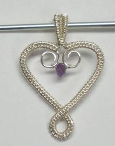 Tutorial: Birthstone Heart Pendant