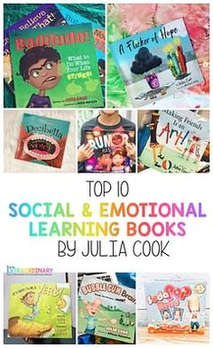 Julia Cook is an award-winning children's author who has published nearly 100 books on social-emotional development topics. Julia Cook's books teach children through fun, memorable stories. Social Emotional Development, Toddler Development, Social Emotional Learning, Social Skills, Social Work, Emotional Books, Teaching Emotions, Teaching Kids, Toddler Learning