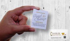 Convite individual Casamento