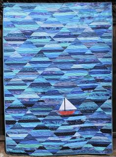 Scrap Report and NTT Quilting For Beginners Made Easy Quilting for beginners may be a a laugh hobby. Batik Quilts, Jellyroll Quilts, Scrappy Quilts, Mini Quilts, 3d Quilts, Star Quilts, Cotton Quilts, Quilt Blocks, Ocean Quilt