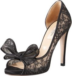 ShopStyle: ValentinoCouture Lace d'Orsay