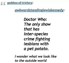 Only on Doctor Who