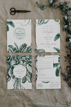 Botanical stationary