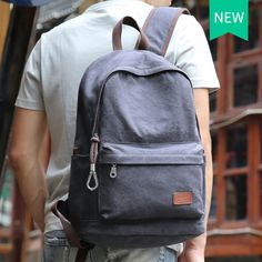 83a19190495f |2018 Для мужчин мужской рюкзак Колледж школьные рюкзак сумки для  подростков Винтаж Mochila Повседневное Рюкзак Путешествия Рюкзак купить на  AliExpress