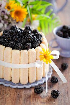 #Cake with #blackberries wall mural for your #homedecor #art #artforsale #wallmurals #interiordecor #interiordecorideas #interiordecortips #homedesign #decor #sweets #cake #pastry #kitchendecor