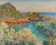 Claude Monet - Près Monte-Carlo, 1883.