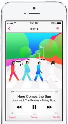 Jony Ive redesigns The Beatles.