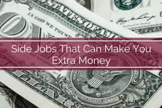 Ready to earn some more money? We thought so...
