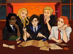 Penny, Ben, Bill, Rowan, and You.