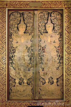 thai-ancient-art-gold-angel-painting-22387070.jpg 600×900 pixels