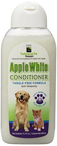 PPP Pet Apple White Cream Rinse 1312Ounce * Learn more by visiting the image link.