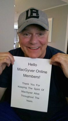 A message from RDA! Same smile he's always had
