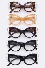 60977d4f9b86 Cat Eye Statement Glasses